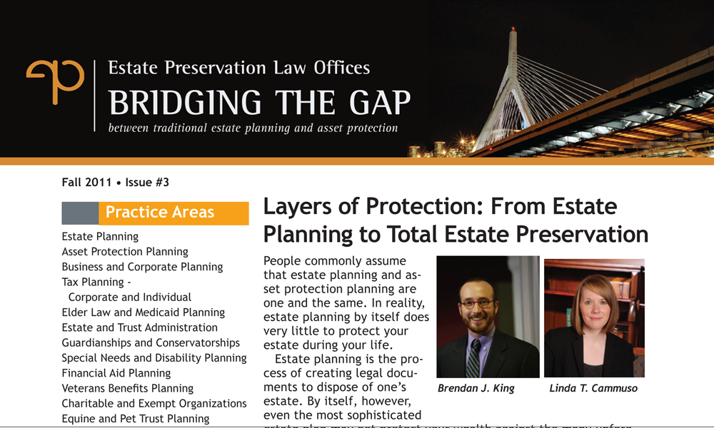 Layers of Protection: From Estate Planning to Total Estate Preservation