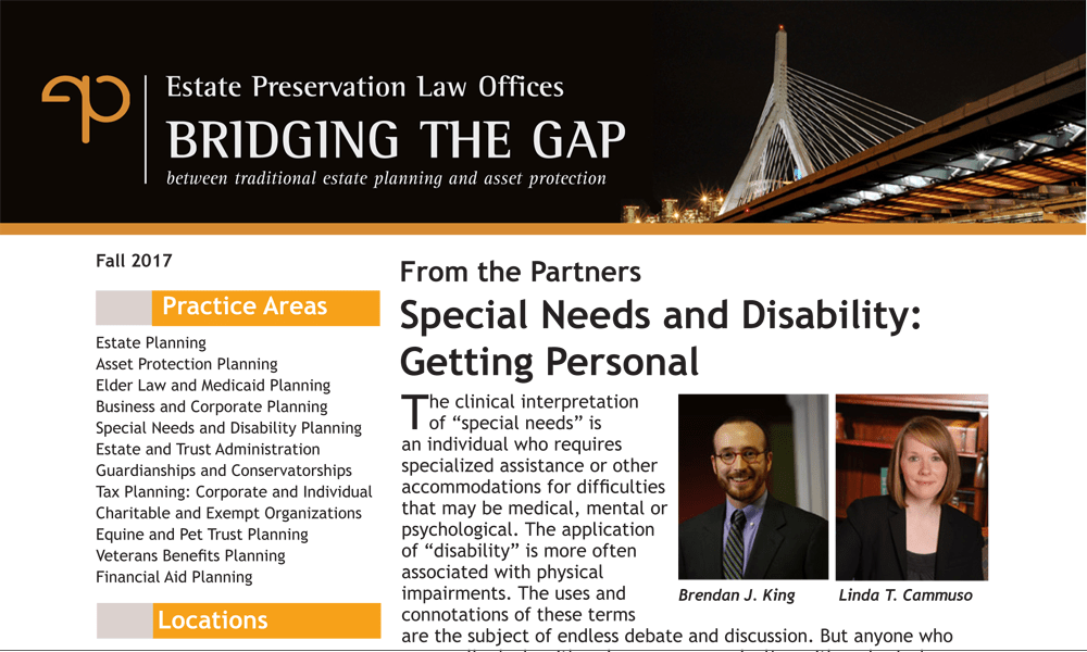 Special Needs and Disability: Getting Personal